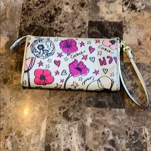 Coach Bags - Coach Kyra Poppy Zipper Wallet